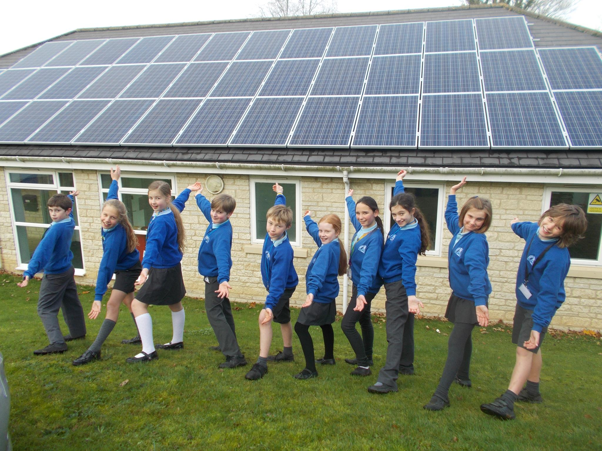 Low Carbon Hub Solar School