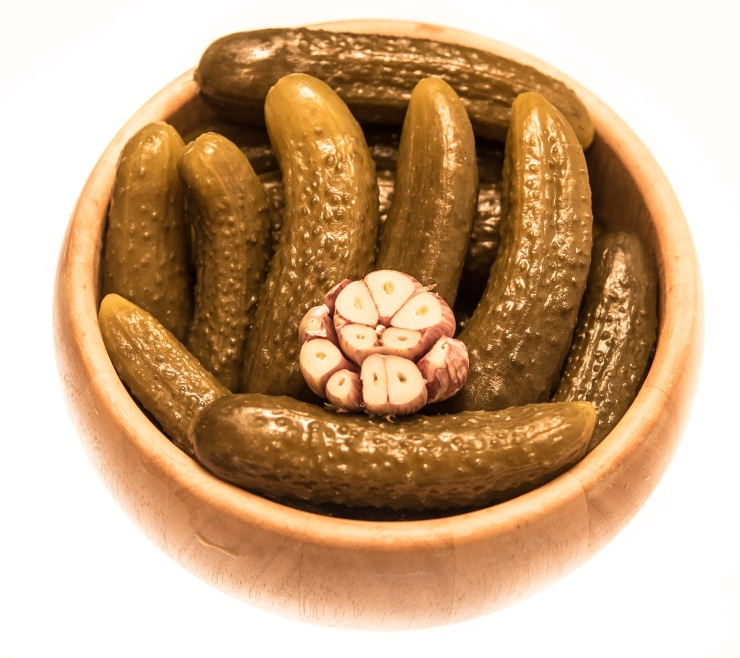 Taste of Poland - pickled gherkins